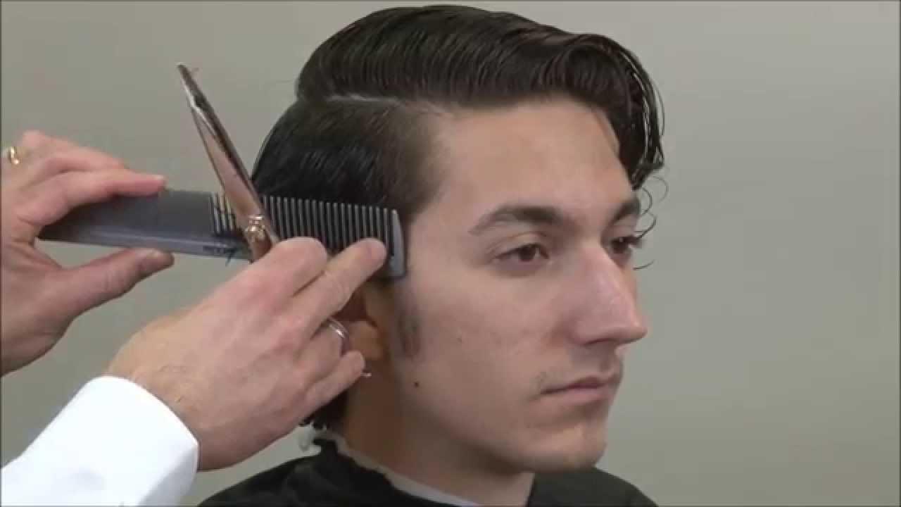 1920's men's layer cut – sean penn hairstyle – ryan gosling