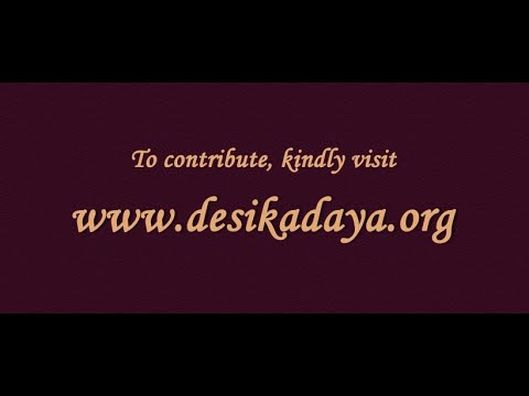 #VedantaDesika750 - 'Tirumagalum Tiruvarulum' by Sri Dushyanth Sridhar