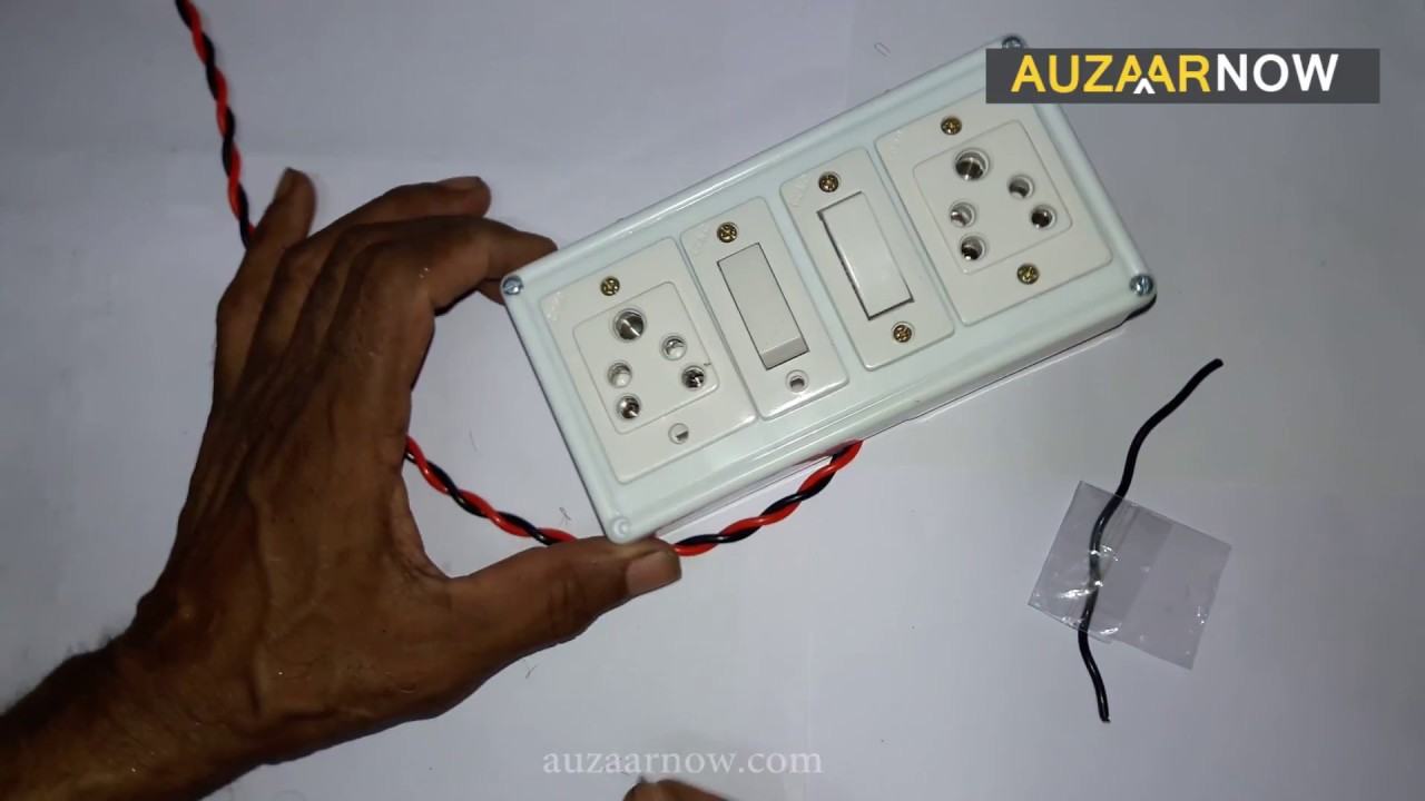 electric board wiring connection how to make an electric extension rh youtube com power distribution board wiring power board wiring