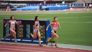 第101回日本陸上競技選手権 女子800m予選3組 ラスト thumbnail