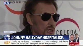 """Johnny Hallyday est hospitalisé depuis cinq jours pour """"détresse respiratoire"""""""