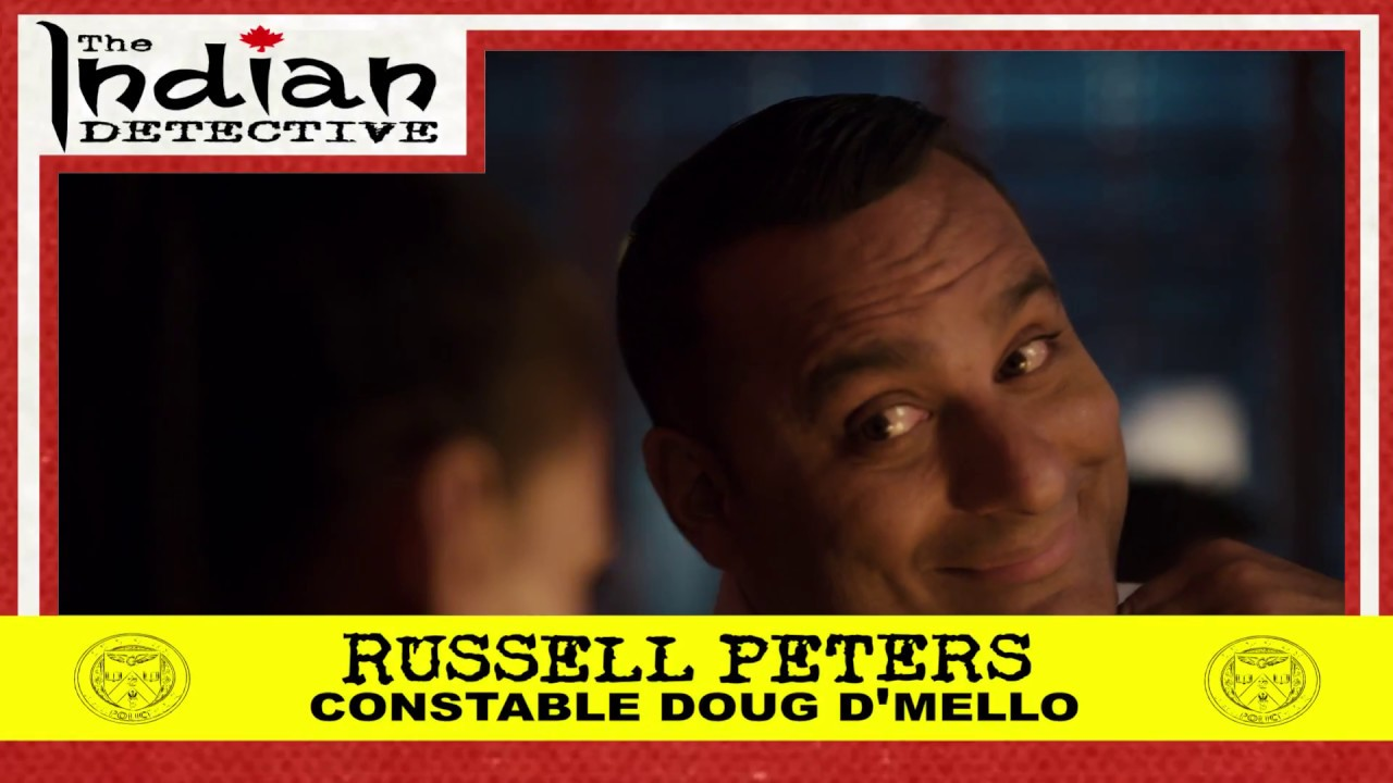 Download The Indian Detective - Russell Peters as Doug D'Mello - Trading Card - 1/15
