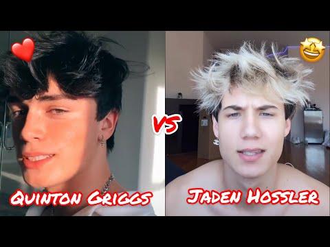 Quinton Griggs VS Jaden Hossler 🖤   July Mashup   Tiktok Vs