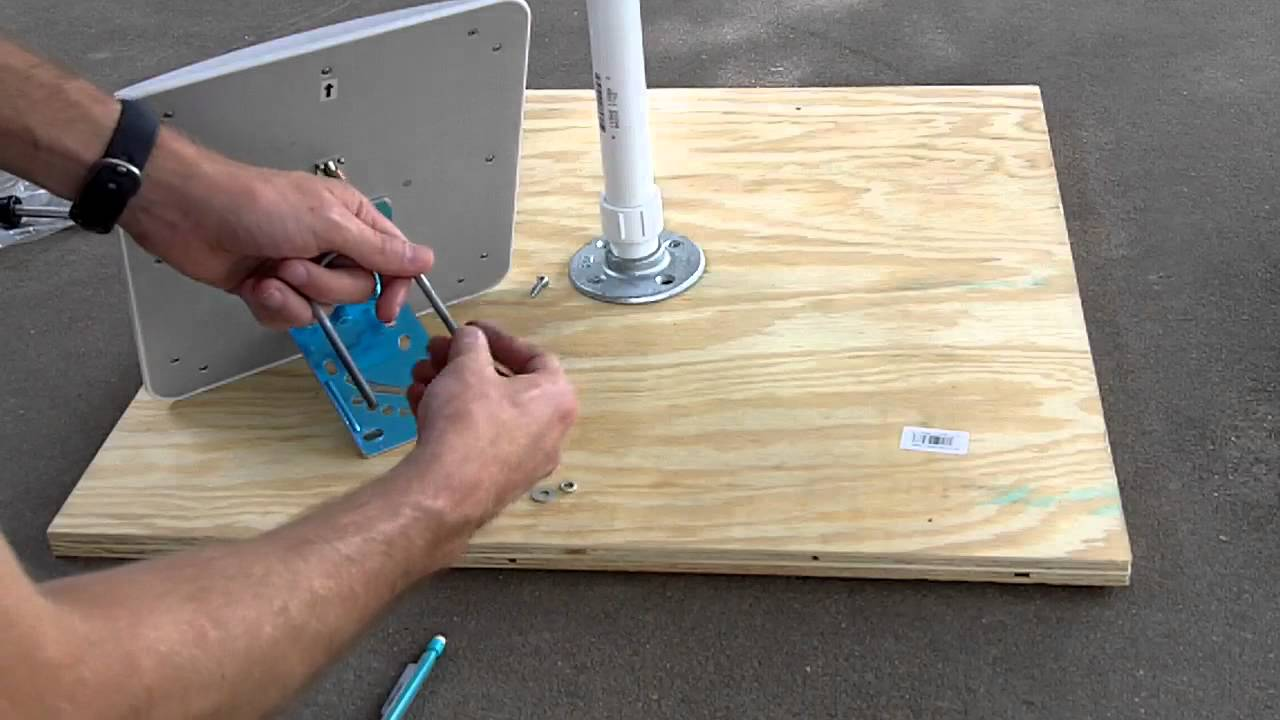 Building An Antenna Stand Part 1 Youtube