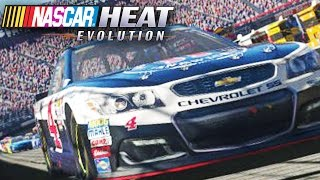 NASCAR Heat Evolution - Career Mode