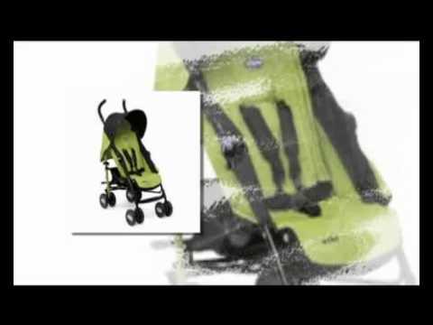 chicco echo stroller - YouTube