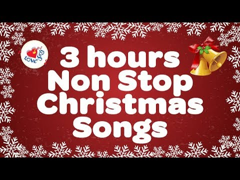 3 hours Non Stop Christmas Songs | Christmas Songs Live Stream