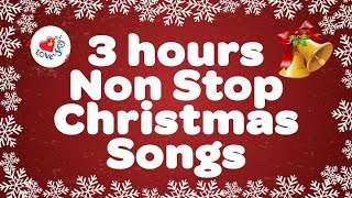 3 hours Non Stop Christmas Songs   Christmas Songs Live Stream