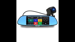 DVR Rear View Mirror Dashcam Review