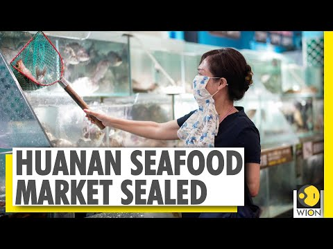 Chinese authorities seal Huanan seafood market as Wuhan touts recovery | World News