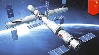 China to launch Tiangong-2 space station next week - TomoNews