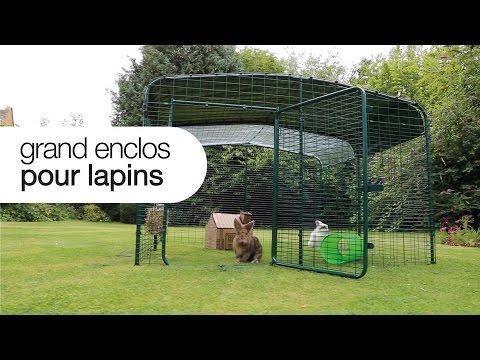 Enclos Pour Lapins Omlet - Parfait pour votre jardin
