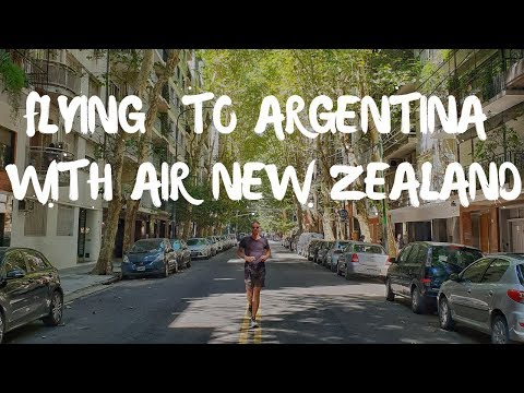 Flying With AIR NEW ZEALAND 12 Hours To Argentina