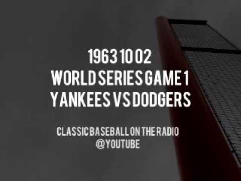 1963 10 02   World Series Game 1 Yankees vs Dodgers