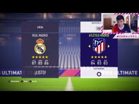 PROBANDO LA DEMO DE FIFA 18 | REAL MADRID VS ATLÉTICO DE MADRID