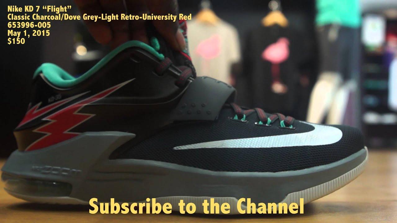 size 40 6474b caaf3 Nike KD 7 thunderbolt