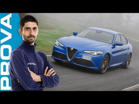 Alfa Romeo Giulia Veloce Q4 | Come vanno il benzina 280 CV e il diesel 210 CV