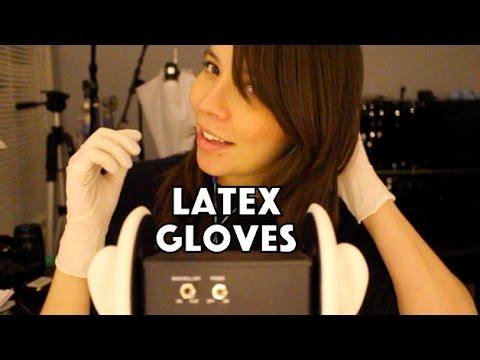 gloves girls Latex