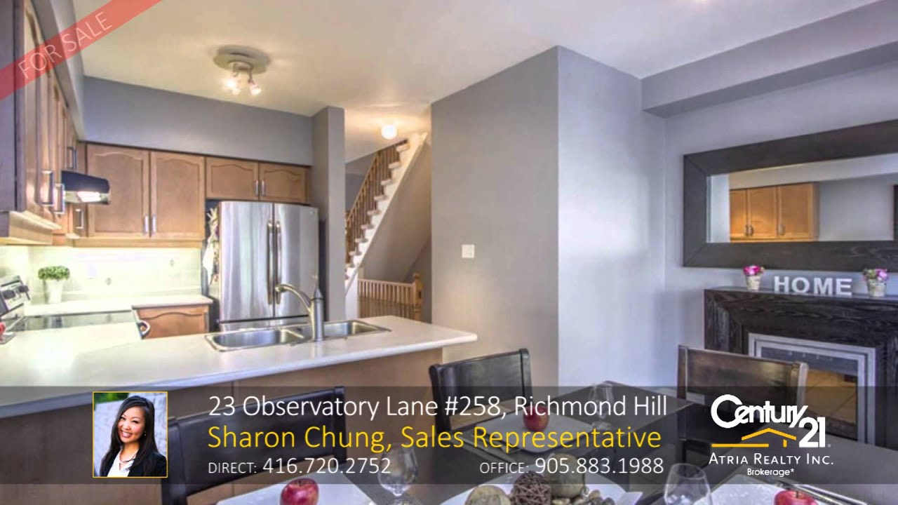 23 observatory lane 258 richmond hill home for sale by sharon 23 observatory lane 258 richmond hill home for sale by sharon chung sales representative