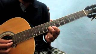 Narumugaye Iruvar on Guitar - How to play Indian classical based songs on the Guitar