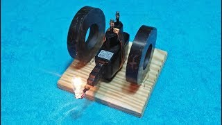 Make A | Free Energy | Mobile Phone Charger With magnet Science project New | Technology