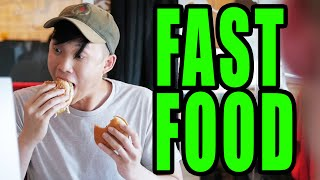 The Stages Of Eating Fast Food