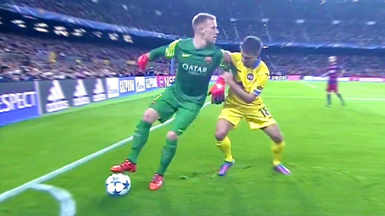 مهارات حارس المرمى في كرة القدم