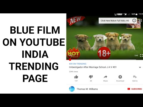 Blue Film On YouTube India Trending Page - YouTube