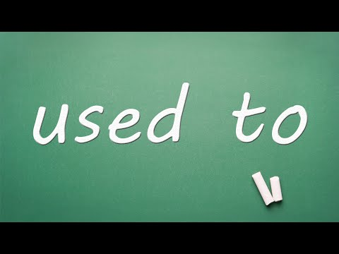 Used To - English Lesson