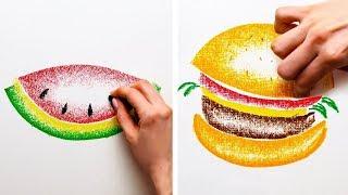 25가지 재밌고 간단한 그림 테크닉