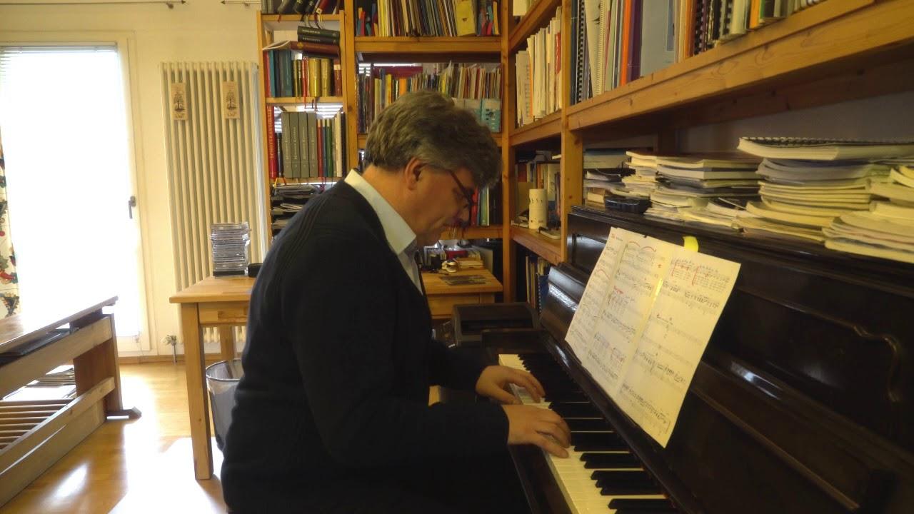 Thomas Gindele am Klavier
