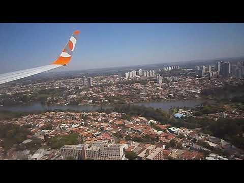 POUSANDO EM LONDRINA-PR BOEING 737/800 DA GOL VOO VINDO DE GUARULHOS-SP