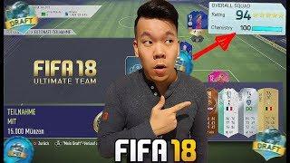 FIFA 18 RETRO 194ER FUT DRAFT CHALLENGE 🔥🔥 FIFA ULTIMATE TEAM