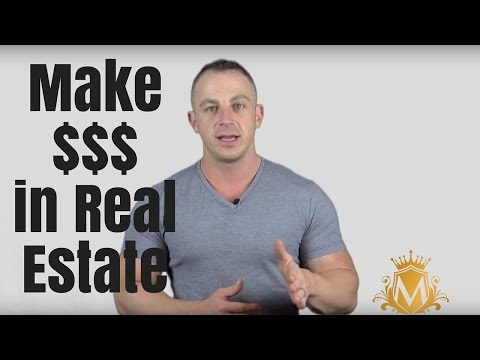 How To Make Money In Real Estate Without Being An Agent