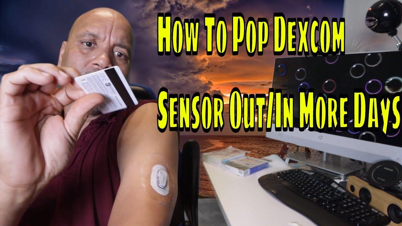 How To Restart Your Dexcom G6 Sensor For Extra Days - YouTube