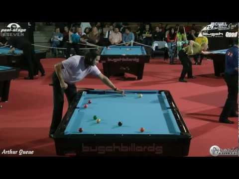 Mezz Cues German Open 2012, Karlo Dalmatin vs Michele Laurano, 9-Ball