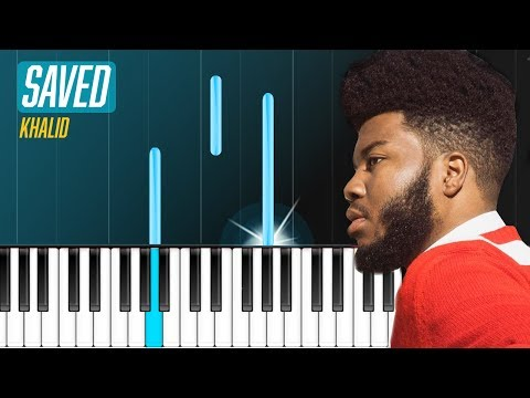 "Khalid - ""Saved"" Piano Tutorial - Chords - How To Play - Cover"