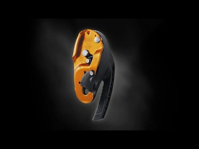 RIG [EN] Compact self-braking descender for rope access