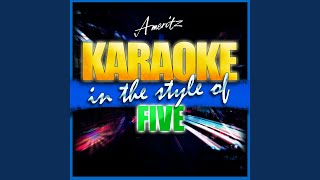 Everybody Get Up (In the Style of Five) (Instrumental Version)