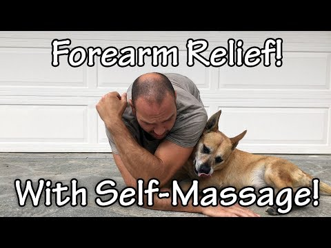 Release your Tight Brachioradialis Muscle for Forearm Relief with Antranik (feat. Medax)