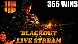 Playing With Subs! 367 Wins! 29% W/L // CoD Blackout // Call of duty Blackout // CoD // PS4