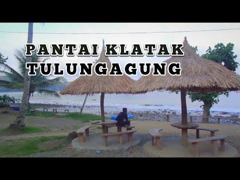 PANTAI KLATAK Tulungagung, Jawa Timur, Indonesia - YouTube