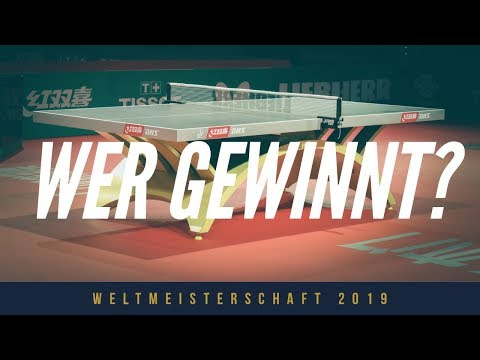 Ma Long, Harimoto oder Xu Xin? Weltmeister 2019 Prognose + Training