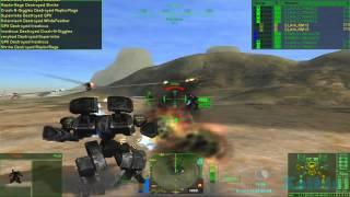 MechWarrior 4 Mercenaries with MekTek mod gameplay 02