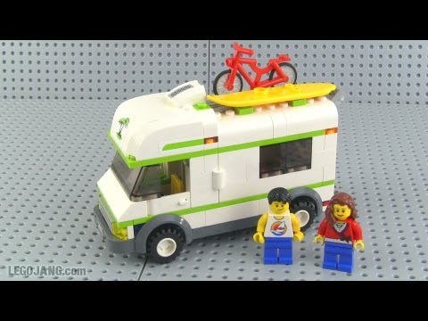 LEGO City 7639 Camper review!