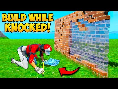 *rare* Build While Knocked Trick!! – Fortnite Funny Fails And Wtf Moments! #723