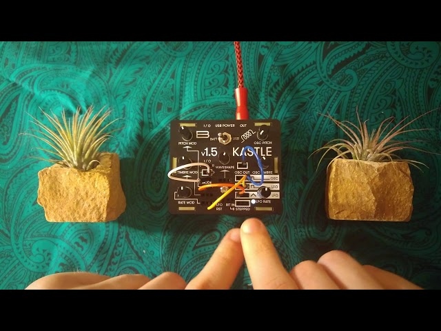 Making a Self-Playing Patch on the Bastl Kastle