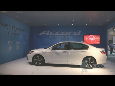 2014 Honda Accord Phev 2012 Los Angeles Auto Show Youtube