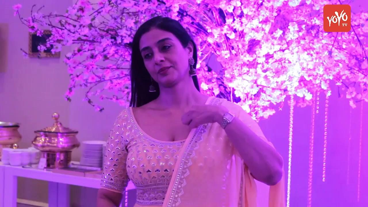 Actress Tabu Appearance At Sidhant Kapoor And Nikhita's