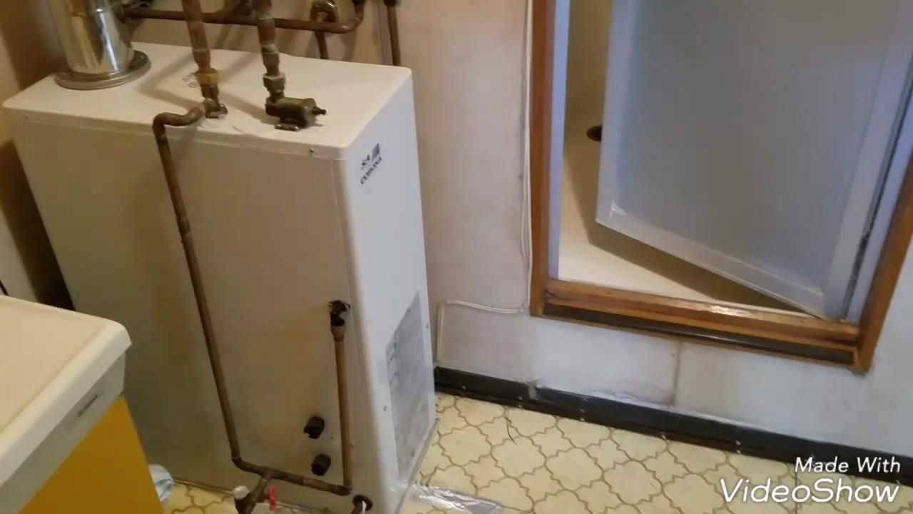 diy】リホーム初挑戦 ① 洗面台交換と床と壁張替 - youtube